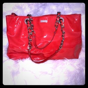 Kate Spade Patent Leather Red Bag